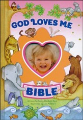 God Loves Me Bible, Newly Illustrated Edition - Slightly Imperfect