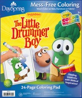 Veggietales, Christmas Manger Color Wonder Coloring Pad