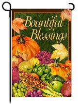 Bountiful Blessings Flag, Small