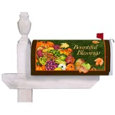 Bountiful Blessings Mailbox Cover