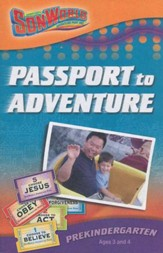 SonWorld Adventure Park Passport to Adventure Student Book,  Preschool (Ages 3 & 4)