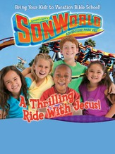 SonWorld Theme Poster Large: A Thrilling Ride With Jesus