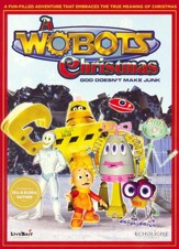 A Wobots Christmas, DVD
