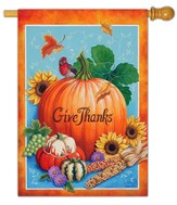 Give Thanks Flag, Large