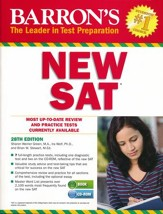 Barron's New SAT, 28th Edition with CD-ROM