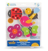 Magnetic Counting Garden Puzzles, 15 Pieces