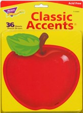 Shiny Red Apple Classic Accents