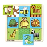 Animals Peek-Through Puzzle, 9 Pieces