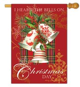 I Heard the Bells on Christmas Day Flag, Large