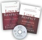 Love & Respect--softcover book, DVD & workbook