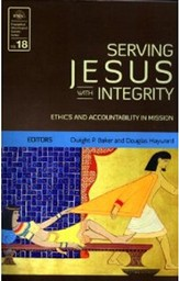 Serving Jesus with Integrity