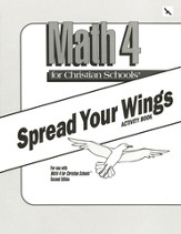 Math 4, Spread Your Wings Activity Book