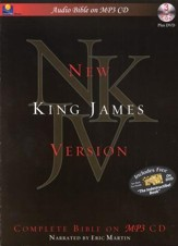 NKJV Complete Audio Bible on MP3 CD