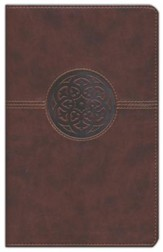 NIV Thinline Bible, Imitation Leather, Brown