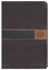 NIV Thinline, Large Print, Imitation Leather, Brown