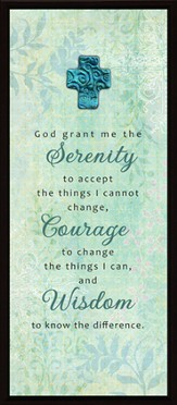 God Grant Me the Serenity Plaque