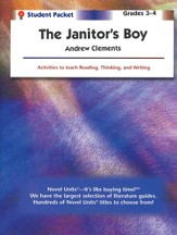 The Janitor's Boy, Novel Units Student Packet, Grades 3-4