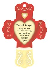 Travel Prayer, Cross Air Freshener