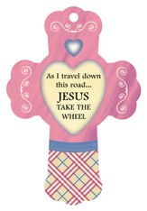 Jesus Take The Wheel, Cross Air Freshener