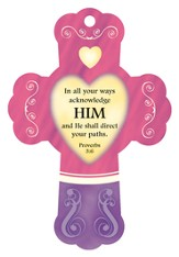 He Will Direct Your Path, Cross Air Freshener