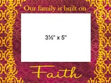 Family Faith Photo Frame