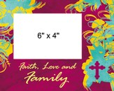 Faith Love Family Photo Frame