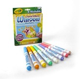 Crayola, Crystal Effects Window Markers, 8 Pieces