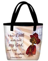 I Have Faith Tote