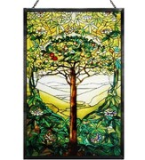 The Tree of Life Stained Glass Reproduction