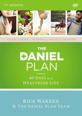 The Daniel Plan: A DVD Study: 40 Days to a Healthier Life, DVD-ROM - Slightly Imperfect