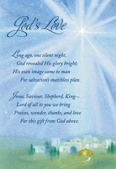 Gods Love Christmas Cards, Box of 18