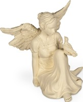 Slice Of Heaven, Angel Figurine with Bird