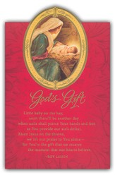 God's Gift Christmas Cards, Box of 18