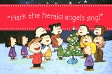 Peanuts Hark the Herald Christmas Cards, Box of 18