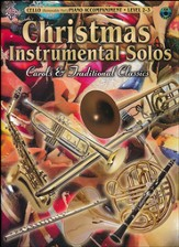 Christmas Instrumental Solos: Carols & Traditional Classics (Cello Book & CD)