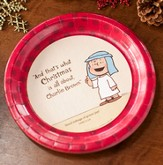 And That is What Christmas is All About Peanuts Paper Dinner Plates, Pack of 8