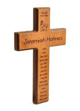 Personalized, Little One, Cherry Small Cross