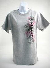 Princess 3 Shirt, Gray, Small