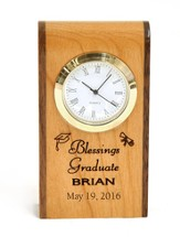 Personalized, Graduation Wooden Clock