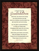 A Prayer for My Grandchildren Prayer
