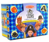 Top This! Role Play Hats, Brown and Black