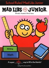 Mad Libs Junior: School Rules!