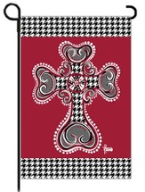 Houndstooth Cross Flag, Small