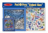 Undersea Fantasy, Stained Glass, Peel and Press Stickers By Number