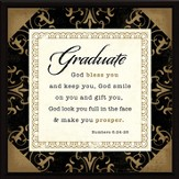 Graduate, God Bless You Plaque