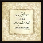 The Lord is My Shepherd Plaque