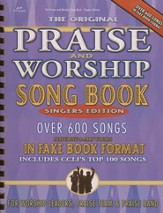 Praise & Worship Song Book (Fake Book) Singer's Edition