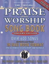 The Original Praise & Worship Songbook, Singers Edition