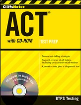 CliffsNotes ACT with CD-ROM