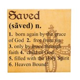Saved Definition Print, 12 Square